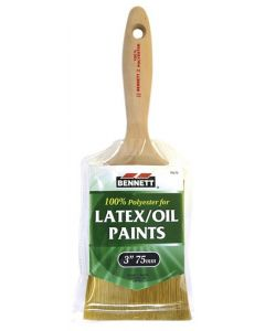"""Bennett Latex/Oil Paint Brush ~ 3"""" / 75MM"""
