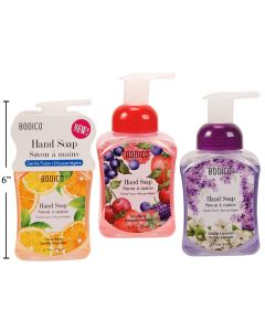 Bodico Foaming Hand Soap ~ 8.5oz bottle
