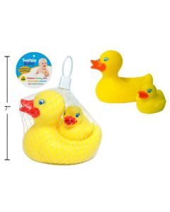 Baby's Choice Rubber Ducky Set with Squeaker