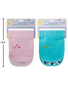 Tootsie Baby Burp Cloth ~ 2 per pack