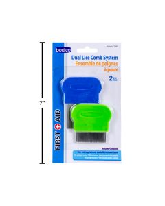 Bodico Dual Lice Combs ~ 2 per pack