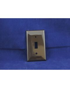 Toggle Switch Cover - Single ~ Brown
