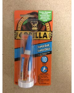 Gorilla Super Glue ~ 2 x 3gr Single-Use Tubes