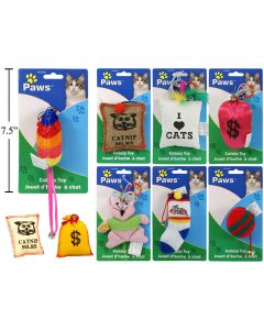 Catnip Toys ~ 9 assorted