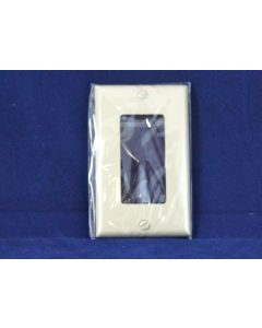 Decorative Single Switch/Outlet Cover ~ Ivory