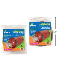"""PAWS Pet Play Tunnel ~ 9.75"""" x 19.5"""""""