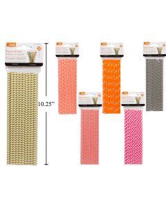 Paper Straws ~ 20 per pack