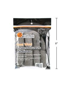 Luciano Steel Wool ~ 8 per pack