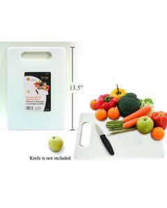 "Durable Plastic Cutting Board ~ 13-1/4"" x 10"""