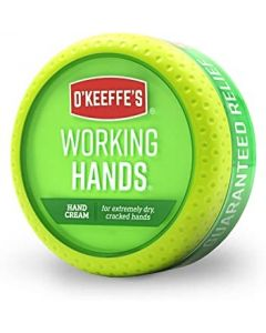 O'Keeffe's Working Hands - 3.4oz Jar Not Carded ~ 16 per counter display