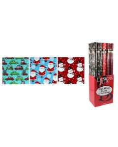 """Christmas Single Roll Wrapping Paper ~ 30"""" x 192"""""""