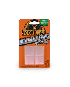 "Gorilla Mounting Tape Squares ~ 1"" squares / 24 square per pack"