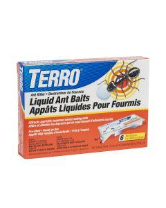 Terro Liquid Ant Baits ~ 6 per pack