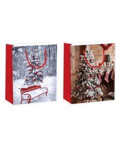 Christmas Giant Gift Bag ~ Xmas Trees