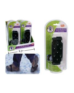 Snow & Ice Shoe Grippers ~ One Size Fits All