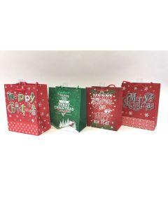 Christmas Medium Gift Bag ~ Christmas Greetings