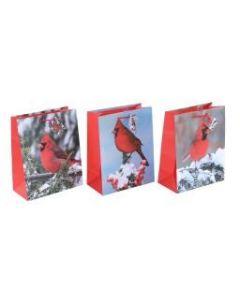 Christmas Large Gift Bag ~ Winter Cardinals