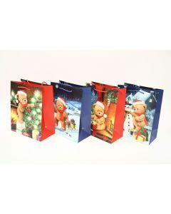 Christmas Large Gift Bag ~ Teddy Bears