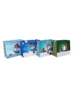 Christmas Large Gift Bag ~ Snowman