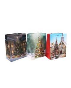 Christmas Large Gift Bag ~ Christmas Trees