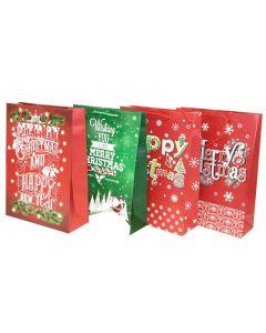Christmas Jumbo Gift Bag ~ Christmas Greetings