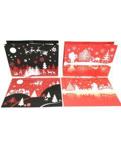 Christmas Horizontal Jumbo Gift Bag ~ Night Scenes