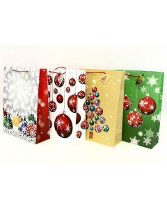 Christmas Jumbo Gift Bag ~ Tree Balls