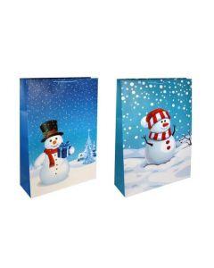 Christmas Giant Gift Bag ~ Snowman