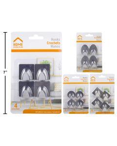 Self Adhesive Hooks ~ 4 per pack