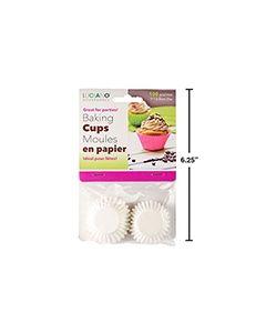 Paper Baking Cups - Mini ~ 80 per pack