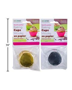 Paper Baking Cups - Medium ~ 12 per pack