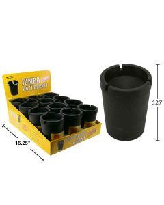 Jumbo Butt Bucket Extinguishing Ashtray - Black Only ~ 12 per display