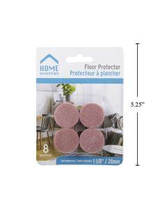 """Floor Protectors - 1-1/8"""" Diameter ~ 8 per pack"""