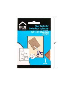 Felt Floor Protector Pads - 4-1/4 x 3-1/8 ~ 1 per pack