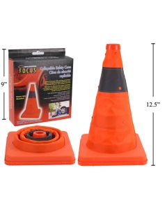 """Collapsible Safety Cones ~ 12""""H"""