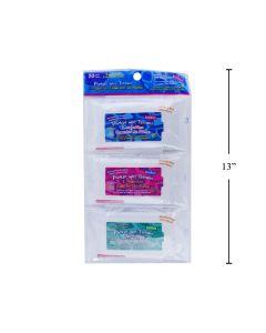 Pocket Wet Wipes - Moist Towelettes ~ 3 packs