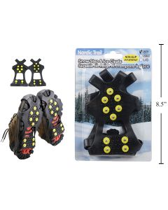 Non-Slip Snow Step & Ice Cleat ~ Size Small