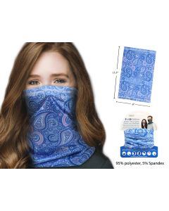 Adult Neck Gaiter ~ Paisley Tie-Dyed