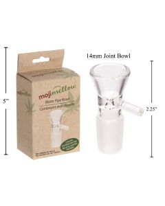 MojiMellow 14mm Water Pipe Bowl - Male