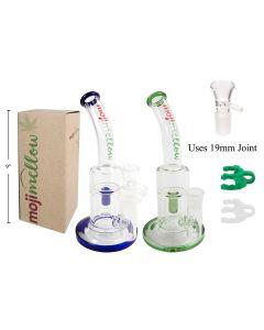 "MojiMellow 9"" Glass Water Pipe"