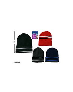 Men's Knitted Toque with Cuff