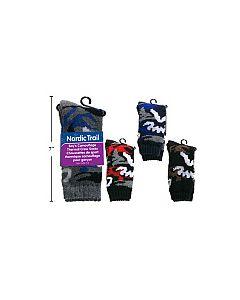 Boy's Camoflauge Thermal Crew Socks