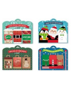 Christmas Gift Card Holders ~ 6 per pack