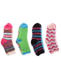 Kid's Feather Cozy Socks ~ 2 per pack
