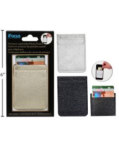 iFocus Deluxe Leatherette Cell Phone Pocket