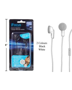 iFocus Earbuds ~ 2 assorted colors