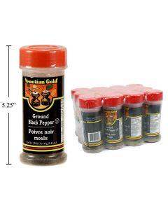 Ground Black Pepper ~ 51 gram