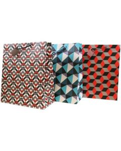 Super Jumbo Gift Bags ~ Abstract Patterns