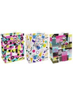 Medium Gift Bags ~ Retro Patterns