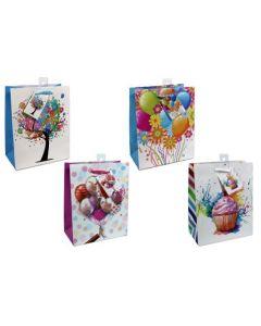 Medium Gift Bags ~ Happy Birthday No Writing